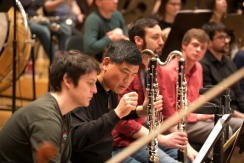 4/1/17 3:06:40 PM -- Chicago, IL USA Civic Orchestra of Chicago CSO Musician coaches sit in with Civic © Todd Rosenberg Photography 2017