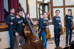 3/13/18 9:20:56 AM The Negaunee Music Institute of the Chicago Symphony Orchestra Civic Orchestra Fellows at Pickard Elementary ©Todd Rosenberg 2018