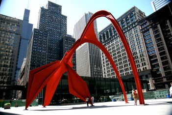 street_chicago_building_architecture_downtown_loop_flamingo_calder-332486