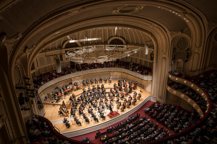 4/30/18 8:33:01 PM -- Chicago, IL, USA Civic Orchestra of Chicago Ken-David Masur conductor Finnis The Air, Turning [U.S. Premiere] R. Strauss Suite from Der Rosenkavalier Tchaikovsky Symphony No. 6 (Pathétique) © Todd Rosenberg Photography 2018