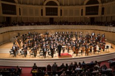 4/30/18 8:45:14 PM -- Chicago, IL, USA Civic Orchestra of Chicago Ken-David Masur conductor Finnis The Air, Turning [U.S. Premiere] R. Strauss Suite from Der Rosenkavalier Tchaikovsky Symphony No. 6 (Pathétique) © Todd Rosenberg Photography 2018